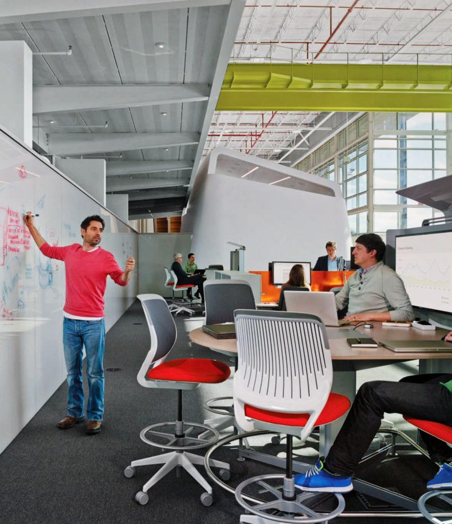 espace de travail innovation
