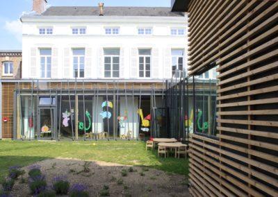 La crèche Jules Verne, bâtiment ERP et petite enfance